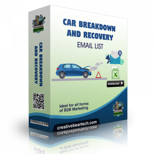 Car Breakdown and Recovery Email List