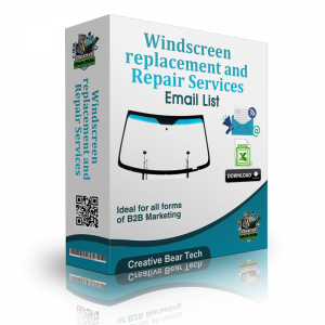 Windscreen replacement and Repair Services B2B Database with Emails