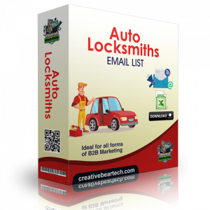 Auto Locksmiths Email List