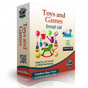 Toys and Games Email List and Business Contact Details