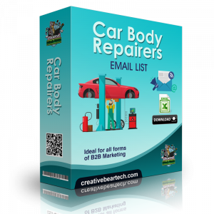 Car Body Repairers Email List