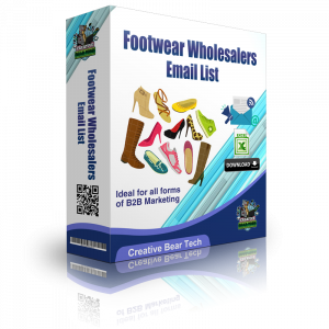 Footwear Wholesalers Email List and B2B Database of Shoe Shops