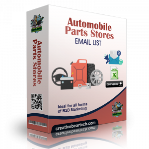 Automobile Parts Stores Email List
