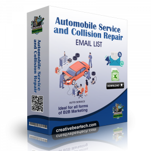 Automobile Service and Collision Repair Email List