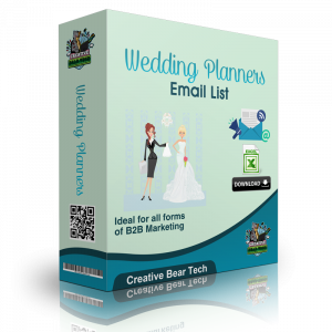Wedding Planners B2B Marketing List with Emails
