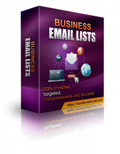 Business Equipment Mailing List and Business Leads with Emails