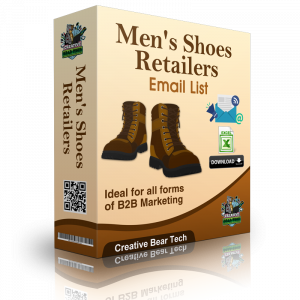 Men's Shoes Retailers B2B Email Marketing List