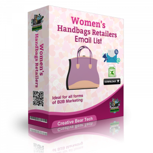 Women's Handbags Retailers B2B Marketing List with Emails
