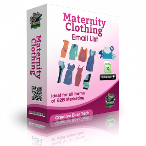 Maternity Clothing B2B Email Marketing List