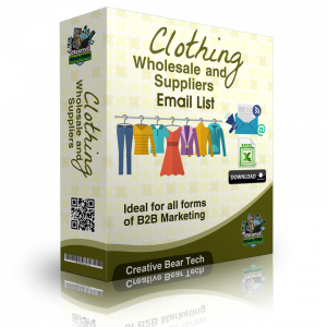 Clothing Wholesale and Suppliers B2B Sales Leads with Email List