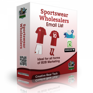 Sportswear Wholesalers Email List