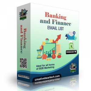 Banking and Finance Mailing List B2B Sales Leads