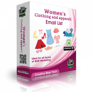 Women's Clothing and Apparel Email Lists and Mailing Lists