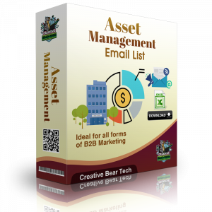 Asset Management Email List B2B Data