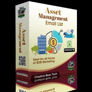 Asset Management Email List B2B Data