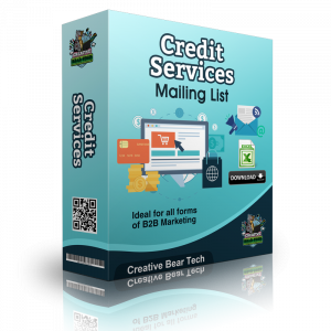 Credit Services Mailing List B2B Data