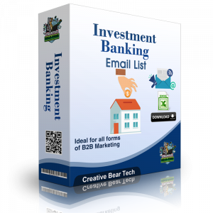 Investment Banking B2B Data List