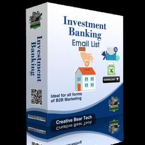 Investment Banking B2B Data List