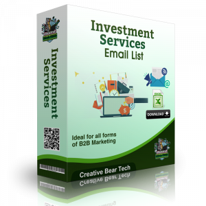 Investment Services B2B Email Marketing List