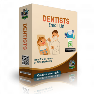 Dentists Mailing List and B2B Database with Email Addresses