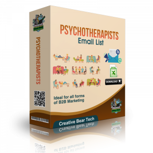 Psychotherapists Email List - B2B Database with Email Addresses