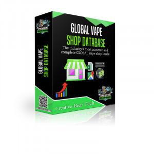 Global Vape Shop Database and Vape Store Email List