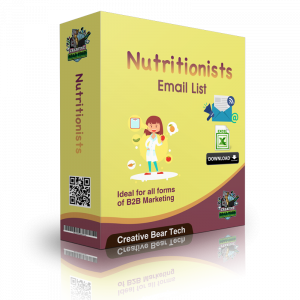 Nutritionists Email List - B2B Database with Email Addresses