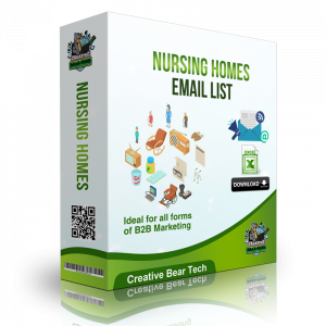 Nursing Homes Email List - B2B Database with Email Addresses