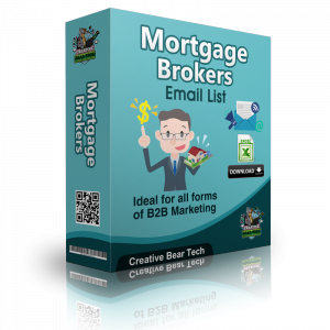 Mortgage Brokers Email List - Financial Advisers Database