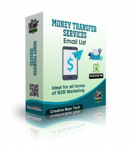 Money Transfer Services Email List for B2B Marketing