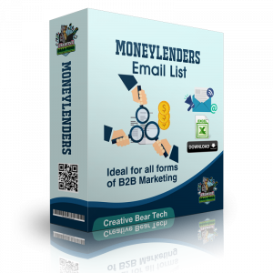 Moneylenders Email List B2B Data