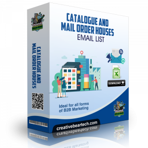 Catalogue and Mail Order Houses B2B Database with Email Addresses and Mailing List