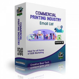 Commercial Printing Email List - Printing Industry Mailing Lists