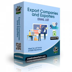 Export Companies and Exporters B2B Database with Email Addresses