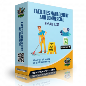 Facilities Management and Commercial Cleaning Email List