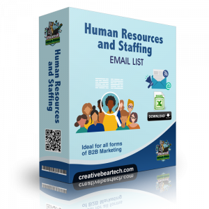 Human Resources and Staffing Mailing List Email List