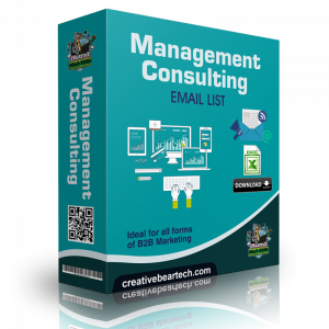 Management Consulting Email List B2B Sales Leads