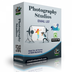 Photography Studios Mailing List and Emails
