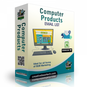 Computer Products and Services Mailing List and B2B Sales Leads