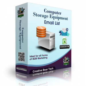 Computer Storage Equipment Email List and B2B Sales Leads