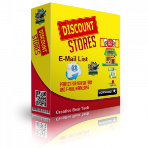 Discount Stores Email List and Business Marketing Data