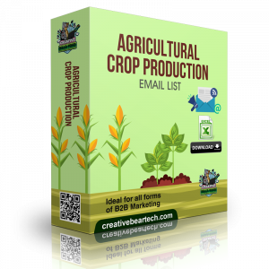 Agricultural Crop Production Industry Database with Email List