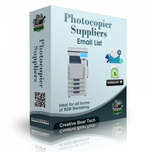 Photocopier Suppliers Marketing List and B2B Database with Emails
