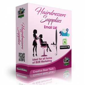 Hairdressers Supplies B2B Email Marketing List