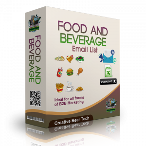 Food and Beverage Email List and B2B Sales Leads