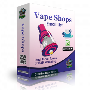 Vape Shop Database Leads - Vape Store Email List