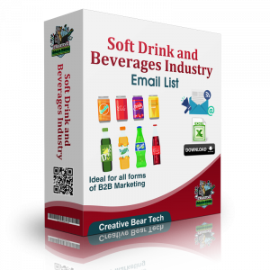 Soft Drink and Beverages Industry Email List and B2B Sales Leads
