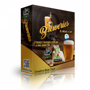 B2B Marketing Database of All Breweries and Business Email Addresses