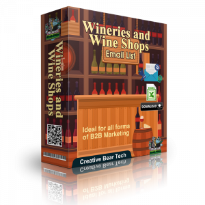 Wineries and Wine Shops Email List and B2B Sales Leads