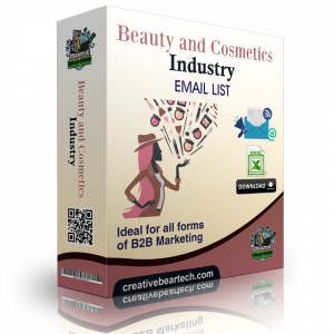 Beauty Products and Cosmetics Shops Email List